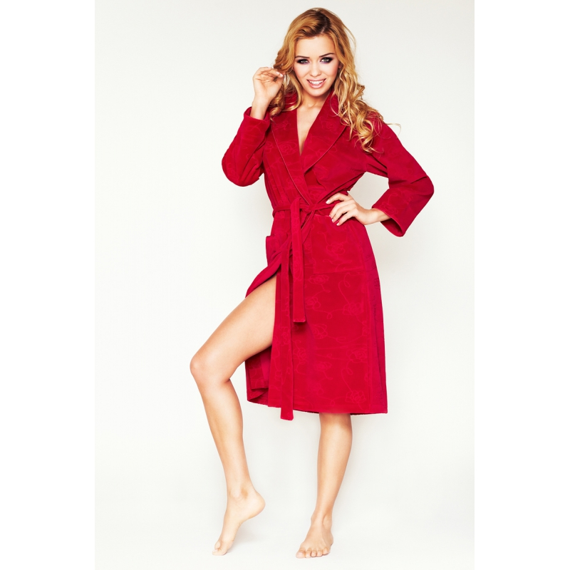 Lilly-of-the-valley dressing gown