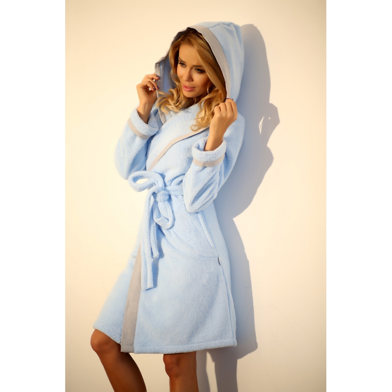 Forget-me-not dressing gown