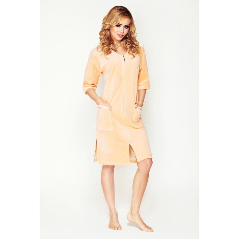 Velour housecoat